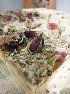 home made soap - lavender http://pikoandstitch.blogspot.co.uk/