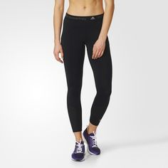 The adidas by Stella McCartney Run Tights are shaped to your body for optimum performance. The tights feature climacool® ventilation and curved, feminine seams.  Tight fit Ventilated climacool® keeps you cool and dry Back zip pocket; Elastic waist with adidas by Stella McCartney logo print; Mesh inserts for ventilation; adidas by Stella McCartney logo print above left cuff; UPF 50+ UV PROTECTION This product is part of the adidas sustainable product program: Products are made in more…