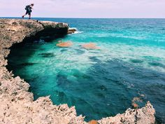 @laura_go  @dsawyer  WE HAVE TO DO THIS while we're there this summer!!! Arikok National Park Sea Cliffs, Aruba