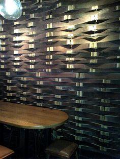 wine barrel wall