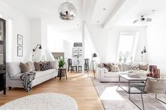 Modern Loft in Gothenburg by Moodhouse Interiör