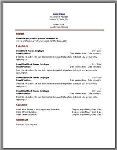 7 Free Resume Templates | Microsoft word, Microsoft and Career