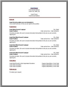 13 free resume templates word 2007 resume template ideas
