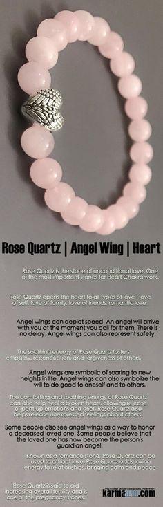 #BEADED #Yoga #Charm #BRACELETS ♛ #Angel #wings are symbolic of soaring to new heights in life. #Rose #quartz. #womens #Jewelry #Buddha #Eckhart #Tolle #Crystals #Energy #gifts #Handmade #Healing #Kundalini #Law #Attraction #LOA #Love #Mala #Meditation #prayer #Reiki #mindfulness #wisdom #Fashion #Spiritual #Buddhist #Tony #Robbins #Gifts #Womens #Fertility #Mens #friendship #Stacks #Lucky #birthday