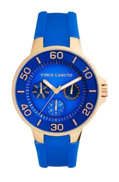 Neon stacked wrist - Blue Vince Camuto watch