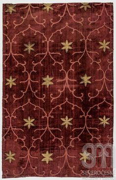 Woven silk panel, Italy, late 15th c.