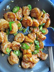 Life on Food: Spicy Shrimp with Lime and Cilantro