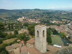 Vistas desde la Torre situada en el Museo Cívico. #EuropeosViajeros #SanGimignano #Italia #Italy #Europe #Viaje #Travel #Turismo #Tourism