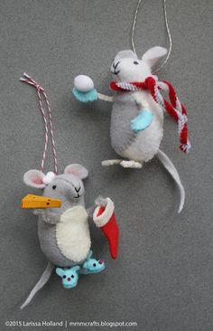 annwoodhandmade.com. Free pattern for Very Nice Mice.