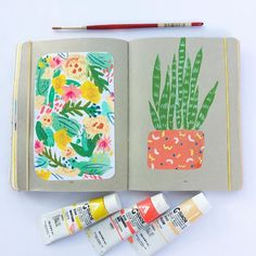 Examples of Sketchbook Inspiration That'll Make You Want to Draw Sketchbook Inspiration, Art Sketchbook, Painting Inspiration, Art Inspo, Floral Illustration, Watercolor Illustration, Watercolor Art, Pretty Drawings, Art Drawings