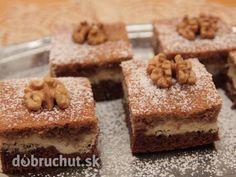 Tvarohovo orechový koláč - Je výborný, vhodný na nedeľu a nenáročný na prípravu.