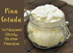 Homemade Body Butter, Homemade Scrub, Whipped Body Butter, Homemade Skin Care, Homemade Beauty, Whipped Soap, Homemade Soaps, Lotion Recipe, Sugar Scrub Recipe