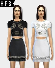 Designer clothes at HAUT FASHION SIMS via Sims 4 Updates