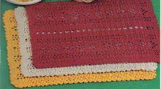 Free Cross Stitch Patterns Country Kitchen Sayings | Free Placemat Patterns | Free Crochet Patterns
