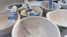 By Bella Odendaal Serving Bowls, Tiles, Tableware, Room Tiles, Dinnerware, Tile, Tablewares, Dishes, Place Settings