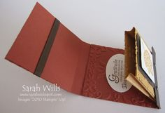 matchbox holder or gift card holder tutorial. I made this and its not hard. But it's a fairly large matchbook and you need to decorate it like she has here.