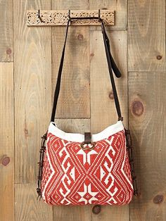 JADEtribe Capri Embroidered Crossbody at Free People Clothing Boutique - StyleSays