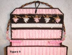Make a girl's purse with plastic canvas in this free plastic canvas pattern and project. Great for the little girl or increase the measurements and create a ladies purse or tote. Tote Pattern, Purse Patterns, Plastic Canvas Crafts, Plastic Canvas Patterns, Canvas Purse, Canvas Tote Bags, Embroidery Stitches, Embroidery Patterns, Crochet Tote