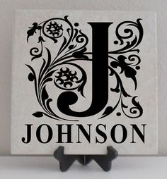 Vinyl Lettering Tile...How tiny would lettering be on mine :-)