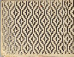 MATSUYA. 6 Albums of Stencilled Paper. Kamiyo Kichinosuke, Kyoto, mid 20th century.