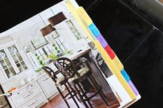 Home Decor Binder! Okay, I am going through all those magazines I was going to recycle and have some fun window shopping and dreaming!