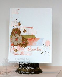 Sweet Sorbet Accessory Pack Sale-a-Bration 2014 Stampin Up! Kimberly Van Diepen
