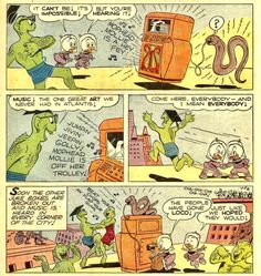 Cavalcade of Comic Book Images Comic Book Pages, Comic Books, Book Images, Peanuts Comics, Art, Art Background, Drawing Cartoons, Kunst, Comic Book
