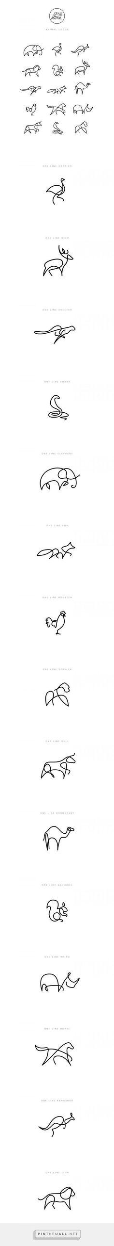 One line - Animal lo