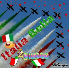 FESTA DELLA REPUBBLICA ITALIANA Best Places In Italy, Italian Greetings, Some Pictures, Good Morning, Symbols, Animation, Letters, Smiley, Vignettes