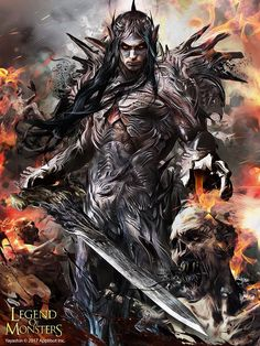 "sosolo: ""Artist: Bruno Wagner aka yayashin - Title: King of elf adv - Card: Unproved King Rughedar (Conquering) """