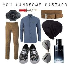 """You handsome bastard"" by ennu on Polyvore featuring Ted Baker, Vans, Suunto, Ray-Ban, Coal, Lyle & Scott, River Island, Christian Dior, Givenchy and men's fashion"