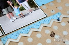 A plain & simple double page layout with loads of colours & interesting details, just the right thing for a meaningful summer memories layout. Summer Memories, Pattern Paper, Scrapbook Paper, Card Stock, Craft Projects, Recycling, Essentials, Paper Crafts, Layout