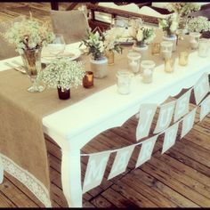 Simple Table runners