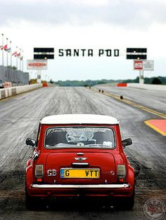 So looking forward to the MITP weekend & watching some Minis getting in some Sunday Screamer 1/4mile runs down the Pod!