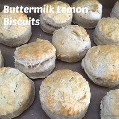 Buttermilk Lemon Biscuits #FoodieExtravaganza