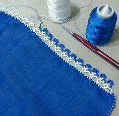 "Diy Crafts - ""pixels \""Crochet lace and trim\"", \""This post was discovered by HUZ\"""", ""This post was discovered by Emine Tokgoz. Crochet Boarders, Crochet Edging Patterns, Crochet Lace Edging, Crochet Trim, Crochet Designs, Knitting Designs, Crochet Stitches, Knit Crochet, Filet Crochet"