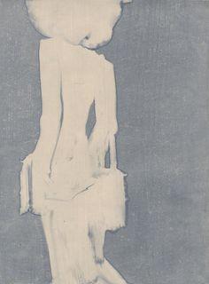 Experimental fashion illustration by Aurore de La Morinerie