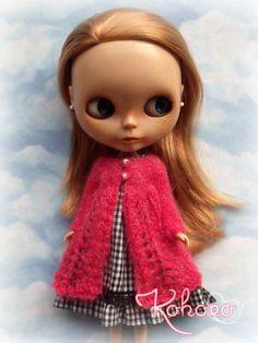 Blythe Knit Mohair Coat by kokorogumis on Etsy, $22.00