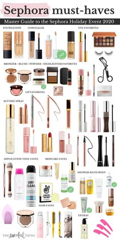 It's the most wonderful time of the year! Today is the first day of access for VIB members for the Sephora Holiday Savings Event I always try to round up my most favorite items from the year, because now is the time to stock up! I always re-purchase my favorites during this event so I will not run out. Just a warning, things sell out quickly! It is also the best time to buy gifts because they have cute exclusive gift sets as well. See below for all the details.