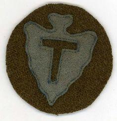 US World War I Army 36th Infantry Division Shoulder Patch