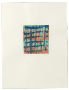 AUCTION FIVE | Peter Schuyff, Untitled series. Watercolor on paper, 50 x 35 cm.