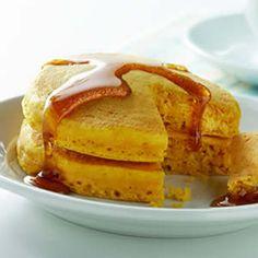 Puffy Pumpkin Pancakes