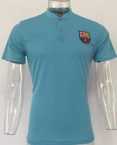fc barcelona 2017 18 blue polo shirt