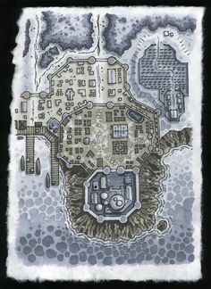 A Dungeons and Dragons type Map  .deviantart.com