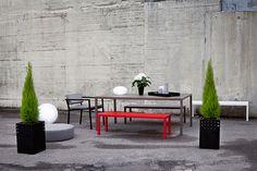 Sundays Frame spisebord  #hage #uterom #utemøbler #norskdesign #sundays #sundaysdesign #hagemøbler