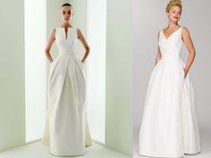 Suknia ślubna w stylu lat 60' - Artykuły ślubne - Ślubowisko