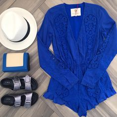 Get ready for the weekend in new arrivals from @thejetsetdiaries . Shop the look online as www.shopsplash.com #shopsplash #blue #tbt #love #summer #jetset #thursday