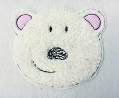 Stickmuster - Eisbär Doodle Stickdatei - ein Designerstück von feinliebshop bei DaWanda