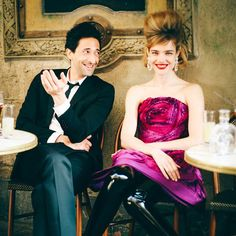 Natalia Vodianova & Adrien Brody for Vogue US by Peter Lindbergh