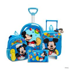 Disney Wonder - Mickey Mouse Collection by Samsonite #Disney #Samsonite #MickeyMouse #Mickey #Mouse #Travel #Kids #School #Schoolbag #MySamsonite #ByYourSide